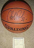 Duke University's Cherokee Parks autographed ( signed ) full-size basketball