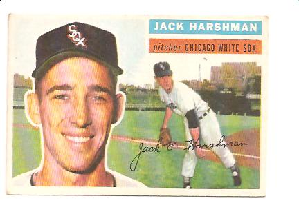 1956 Topps #29 Jack Harshman