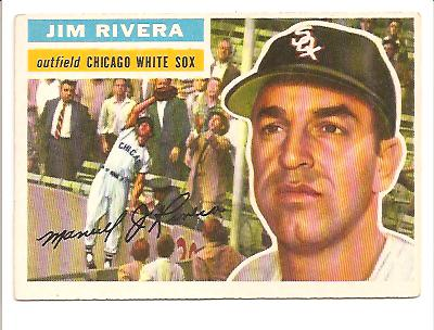 1956 Topps #70A Jim Rivera GB