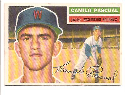 1956 Topps #98 Camilo Pascual