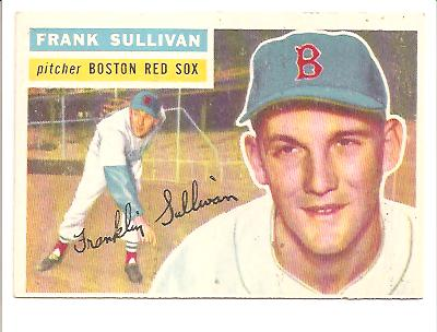 1956 Topps #71 Frank Sullivan
