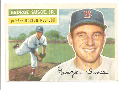 1956 Topps #93 George Susce