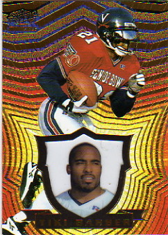 1997 Pacific Invincible #95 Tiki Barber RC