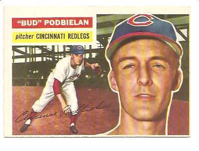 1956 Topps #224 Bud Podbielan