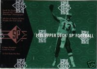 1995 UPPER DECK SP FOOTBALL SEALED BOX - FROM CASE - LOADED WITH ROOKIES