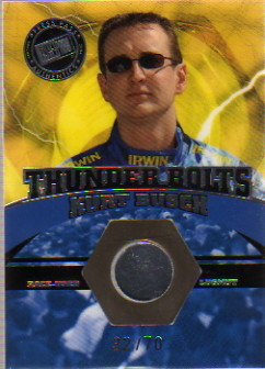 2004 Press Pass Optima Thunder Bolts Drivers #TBD16 Kurt Busch