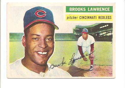 1956 Topps #305 Brooks Lawrence