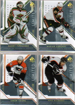 2006-07 SP Authentic Limited #29 Simon Gagne