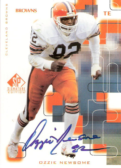 1999 SP Signature Autographs #OZ Ozzie Newsome
