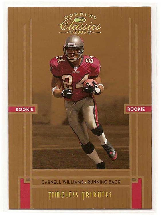 2005 Donruss Classics Timeless Tributes Bronze #205 Cadillac Williams