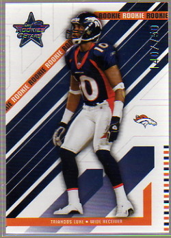 2004 Leaf Rookies and Stars #244 Triandos Luke RC