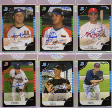 2006 Bowman Originals Buyback Autographs #242 Chris R. Young 05 BDP/772 F
