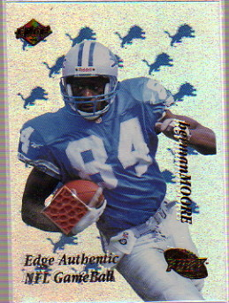 1999 Collector's Edge Fury Game Ball #HM Herman Moore