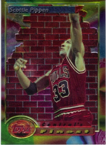 1993-94 Finest #105 Scottie Pippen CF