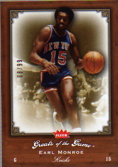 2005-06 Greats of the Game Gold #1 Earl Monroe