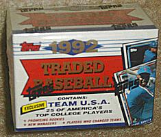 1992 Topps Traded factory-sealed baseball set (Garciaparra RC, Varitek RC)