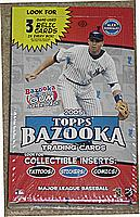 2005 Bazooka factory sealed hobby baseball box