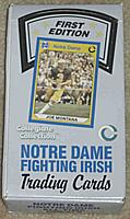 1990 Collegiate Collection Notre Dame 1st edition football box