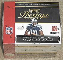 2007 Playoff Prestige factory sealed hobby football box