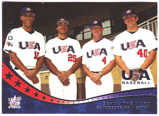 2006-07 USA Baseball #27 Price/Alvarez/Corbin/Weathers BTI