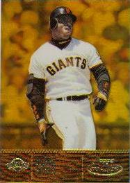 2001 Topps Gold Label Class 1 Gold #8 Barry Bonds