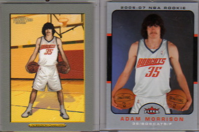 2006-07 Fleer #202 Adam Morrison RC
