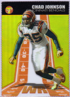 2004 Topps Pristine Gold Refractors #46 Chad Johnson