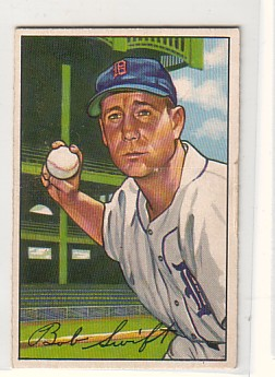 1952 Bowman #131 Bob Swift