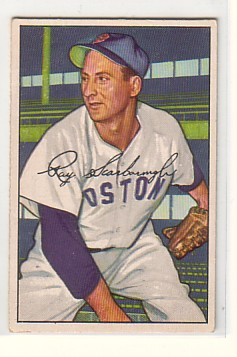 1952 Bowman #140 Ray Scarborough