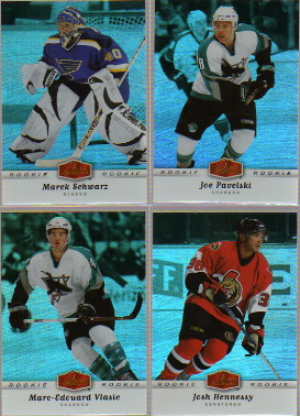2006-07 Flair Showcase #325 Marc-Edouard Vlasic RC