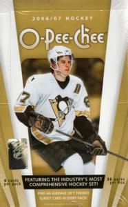 2006 - 07 ( 2007 ) O - PEE - CHEE OPC ( By Upper Deck ) Hockey Factory Sealed Hobby Box - 1 Memorabilia Card Per Box & Possible Autographed Cards + A Steven Stamkos Card