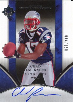 2006 Ultimate Collection #222 Chad Jackson AU/150 RC