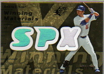 2007 SPx Winning Materials 199 Gold #AE Andre Ethier/199