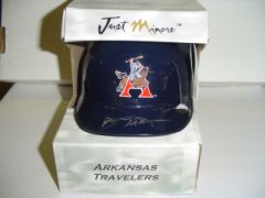 2004 Just Stuff Autograph Mini Helmets #DM1 D.McPherson Arkansas/120