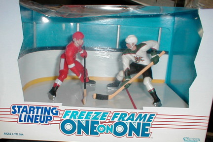 1997 SLU Hockey One on One #5 Jeremy Roenick/Steve Yzerman