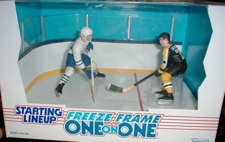 1997 SLU Hockey One on One #7 Mats Sundin/Ray Bourque