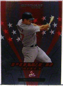 2005 Donruss Power Alley Red #23 Scott Rolen