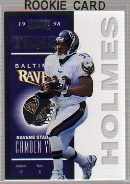 1998 Playoff Contenders Ticket #5 Priest Holmes RC