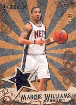2006-07 Topps Luxury Box Mezzanine Relics Bronze #MW Marcus Williams