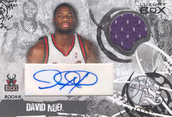 2006-07 Topps Luxury Box Rookie Relics Autographs #DN David Noel