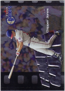 2000 Fleer Gamers #118 Chipper Jones FG