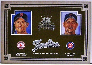 2005 Diamond Kings Timeline #24 N.Garciaparra Sox-Cubs