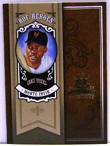 2005 Diamond Kings HOF Heroes #20 Monte Irvin