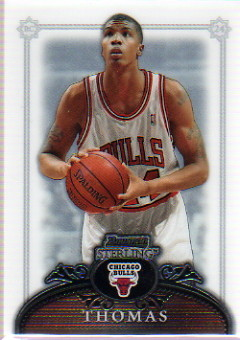 2006-07 Bowman Sterling #46 Tyrus Thomas RC