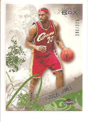 2006-07 Topps Luxury Box Green #23 LeBron James