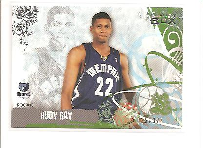 2006-07 Topps Luxury Box Green #60 Rudy Gay