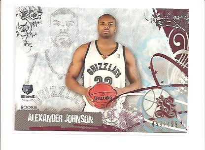 2006-07 Topps Luxury Box Red #78 Alexander Johnson