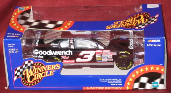 2000 Winner's Circle 1:24 #3 D.Earnhardt/Goodwrench