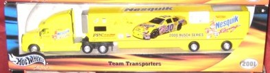 2001 Hot Wheels Racing Transporters 1:64 #10  J.Green/Nesquik