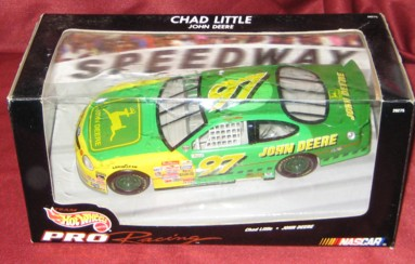 1998 Hot Wheels Racing 1:24 #97 C.Little/John Deere
